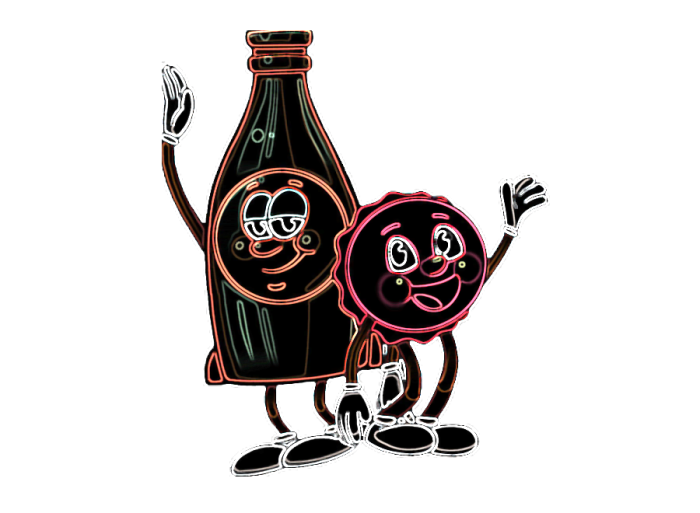 bottle and cappy